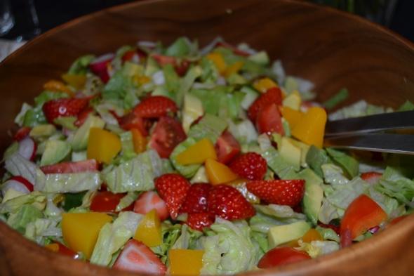 Queen Anne salat